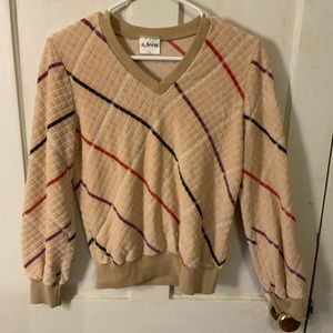 Vintage long sleeve sweater top